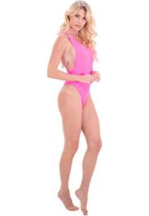 Body Be Sweet Cavado - Feminino-Pink