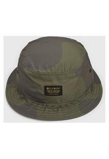 Chapéu Element Eager Bucket Verde