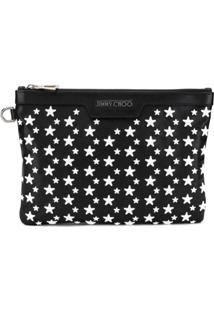Jimmy Choo Derek Clutch - Preto