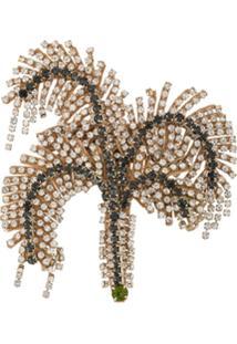 Nº21 Broche De Palmeira - Metálico