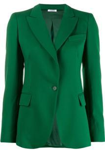 P.A.R.O.S.H. Blazer Com Abotoamento Simples - Verde
