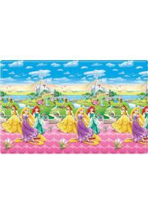 Tapete Princesas Disneyâ® - Azul & Rosa- 200X130Cm