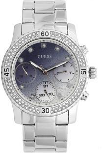 Relógio Guess 92595L0Gsna7 Prata/Azul-Marinho