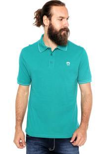 Camisa Polo Mr Kitsch Manga Curta Clearly Verde