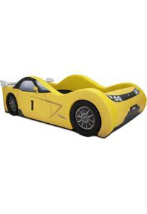 Cama Cama Carro Viper Amarelo