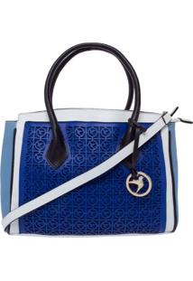 Bolsa Isabella Piu Vazados Azul