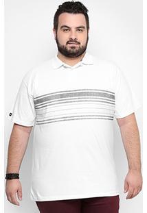 Camisa Polo Hd Plus Size Estampa Army Masculina - Masculino