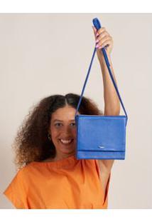 Bolsa Estruturada Caixinha - Azul U