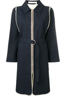 See By Chloé Belted Coat - Preto