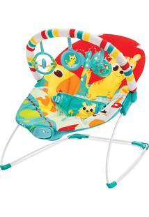 Cadeira De Descanso Vibratória Vermelho Leão