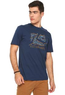 Camiseta Rusty Location Azul