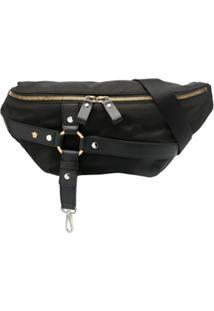 Versace Pochete Com Detalhe De Harness - Preto