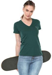 Camiseta Volcom Basic Circle Stone Verde