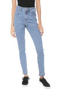 889b67bce ... Calça Jeans Coca-Cola Jeans Skinny Pespontos Azul