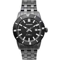 d5e1bb45aa7 Relógio Akium Masculino Aço Preto - G7093 Ss Vd53 Black Vivara