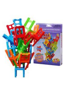 Folding Chair Diy Balancing Presidente Banquinho Dobr¢Vel M²Sica