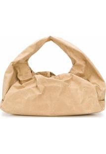 Bottega Veneta Bolsa The Shoulder Pouch - Neutro