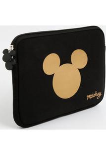 Necessaire Feminina Neoprene Estampa Mickey Disney
