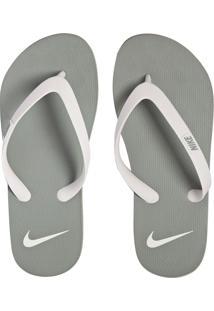 Chinelo Nike Sportswear Aquaswift Thong Cinza