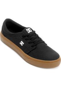 Tênis Dc Shoes Trase Tx Masculino - Masculino-Preto+Caramelo