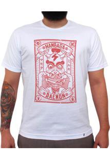 Hambaga Daemon - Camiseta Clássica Masculina