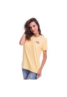 Camiseta Jazz Brasil Basica Amarela