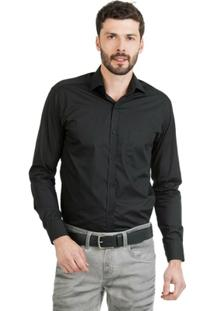 Camisa Di Sotti Lisa Preta - Masculino