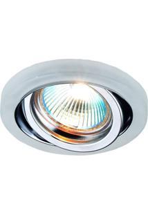 Spot Embutido Cristal Shine Bella Iluminação - Caixa Com 3 Unidade - Cromado