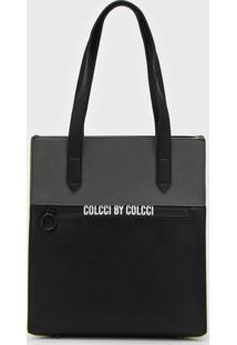 Bolsa Sacola Colcci Shopping Preto