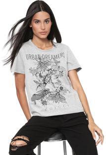 Camiseta Colcci Urban Dreamers Cinza