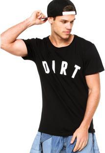 Camiseta Manga Curta West Coast Dirt Preta