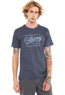 Camiseta Billabong Baldwin Azul