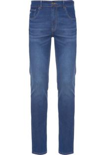 Calça Masculina Denim Slim Fit - Azul