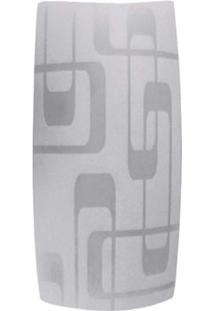 Arandela Leblon 14X22Cm Para 1 Lâmpada E27 Transparente Bronzearte