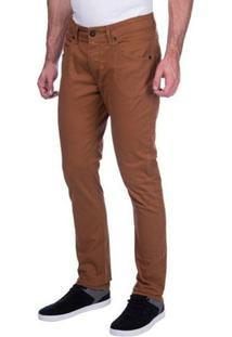 Calça Essential 5 Pockets Antique Oakley - Masculino-Marrom