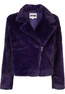 Apparis Tukio Biker Jacket - Roxo