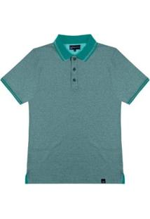 Camisa Polo Masculino Rovitex - Masculino-Verde