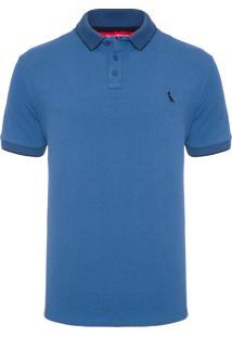 Polo Masculino Prim 19 - Azul