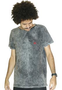 Camiseta Outstanding Estonada Lotus Chumbo