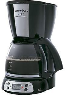 Cafeteira Cp38 Com Display Digital E Timer Programável 800W Inox - Britânia - 220V