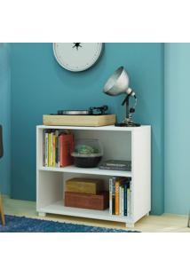 Estante Baixa Office Branco Bl 63-06 Moderno Brv Móveis Branco