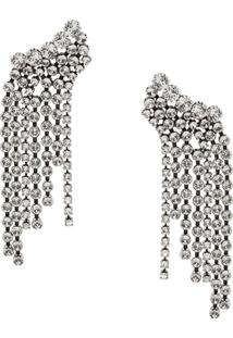 Isabel Marant A Wild Shore Cascade Earrings - Prateado
