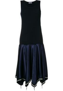 Jw Anderson Vestido Midi - Azul