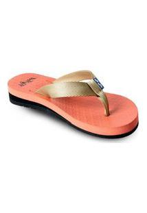 Sandália Fly Feet Anabela Salmão Ortho Pauher