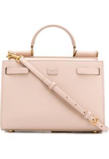 Dolce & Gabbana Top Handle Tote Bag - Rosa