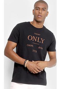 Camiseta Calvin Klein T-Shirt Only Masculina - Masculino