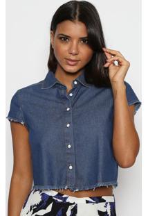 d671564e95 Camisa Azul Triton feminina