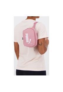 Pochete Puma Phase Waist Bag Rosa