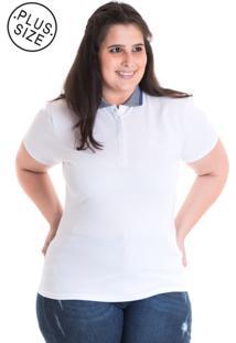 Camisa Polo Konciny Piquet 96313 Branco