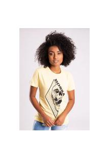 Camiseta Bossa Brasil Diamond Amarela